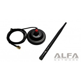 ARS-H002 antenna 5dBi + base magnetica alfa network