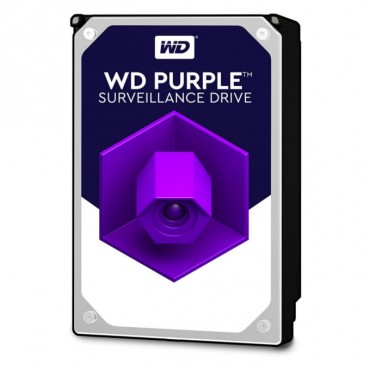 Hard Disk 2TB Purple specifico per videosorveglianza Western Digital